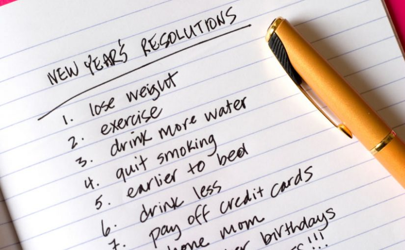 Perfectionism and New Year's Resolutions